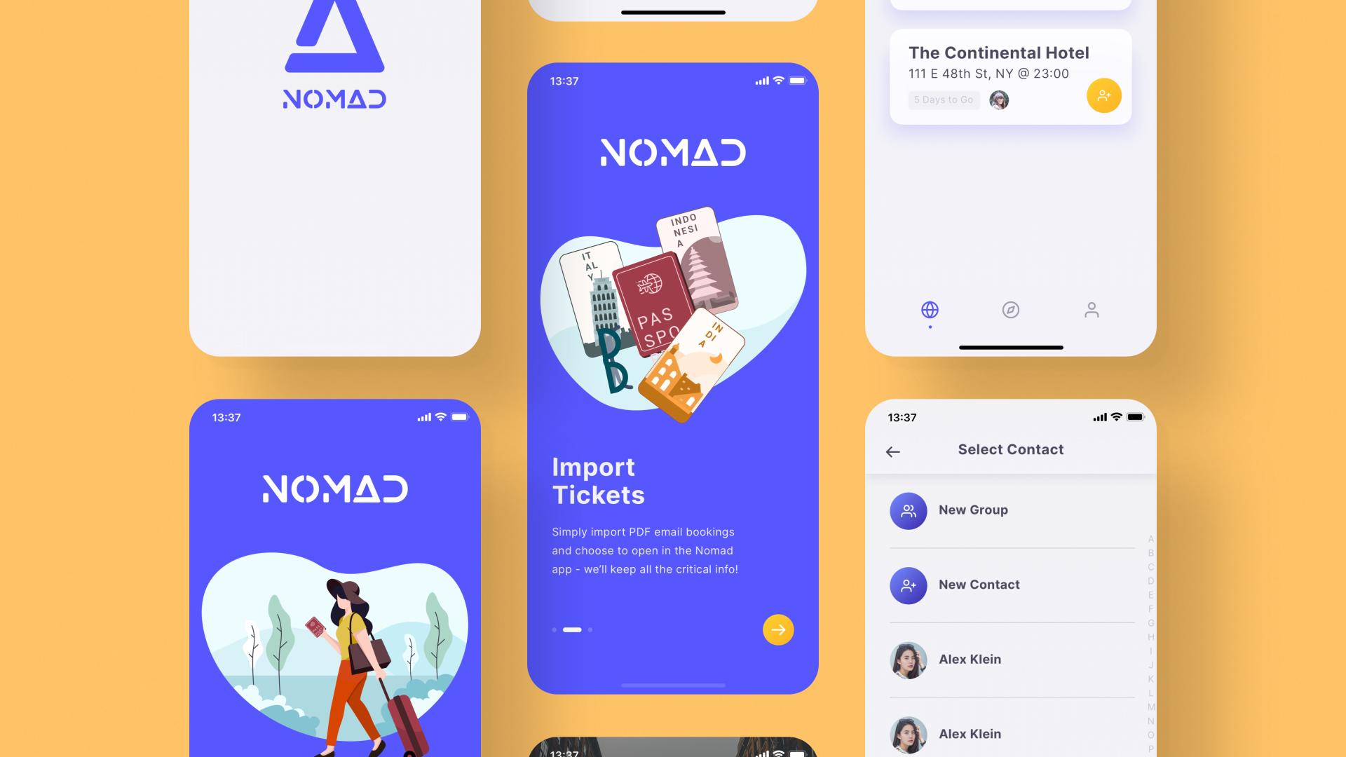 Nomad Travel App